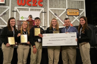 Youth recognized at 2012 NCBA Annual Convention and Trade Show in Nashville. Youth are encouraged to compete at the 2013 convention in Tampa. (photo courtesy of Beltway Beef)