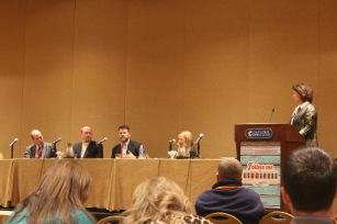 The panel of experts discussed the millennial consumers with attendees at the Architecture of Consumer Demand Outlook Session.